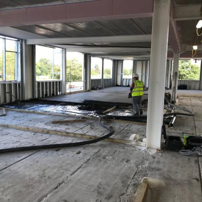 Screeding To Year 7 Classrooms