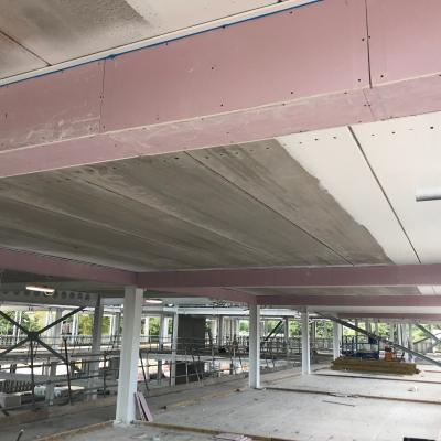 Soffit Painting To Classrooms And Bulkheads To Steels