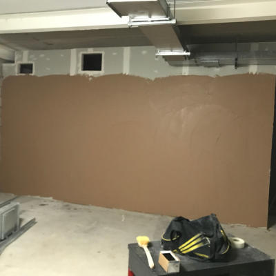 Plastering To Changing Rooms